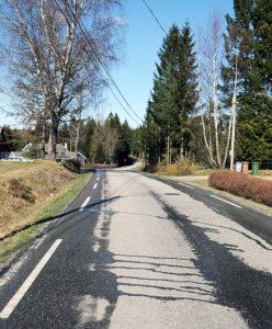 Tveideveien og trafikksikkerhetstiltak