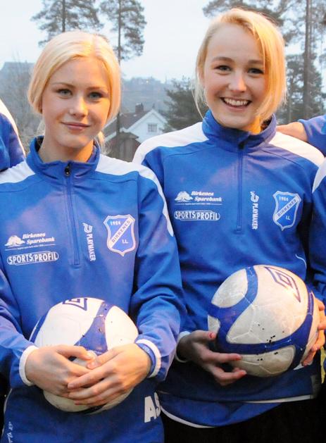 Amalie Snøløs og Eline Glamsland