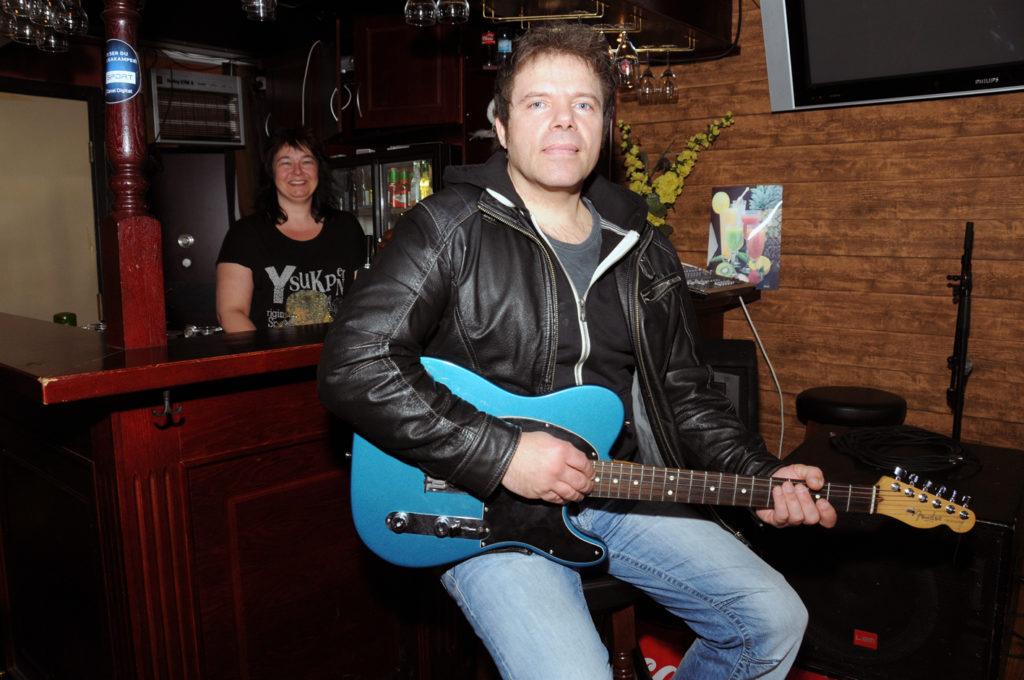 Frankie Dean på Pub'en