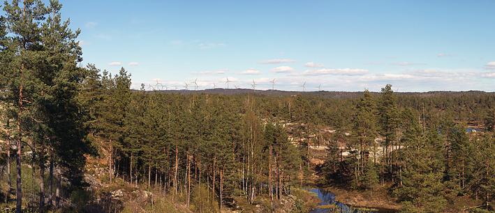 VIL POSISJONERE SEG: Dersom E.ON får klarsignal for utbygging av vindkraft på Storehei, kan det åpne seg store muligheter for det lokale næringslivet. Birkenes Næringsforum har tatt initiativ til et møte om temaet kommende onsdag. (Illustrasjonsfoto/E.ON)