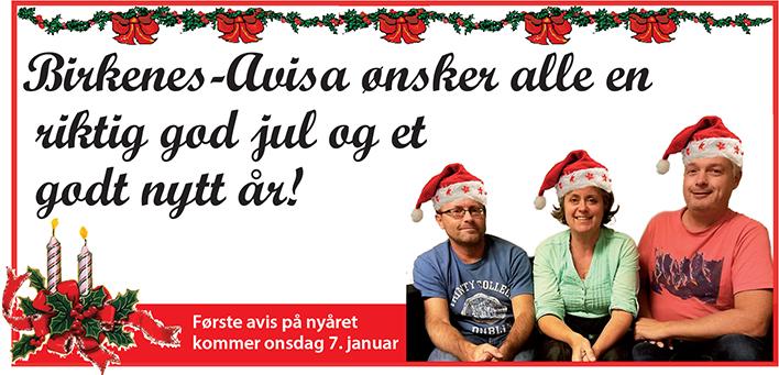 God jul annonse