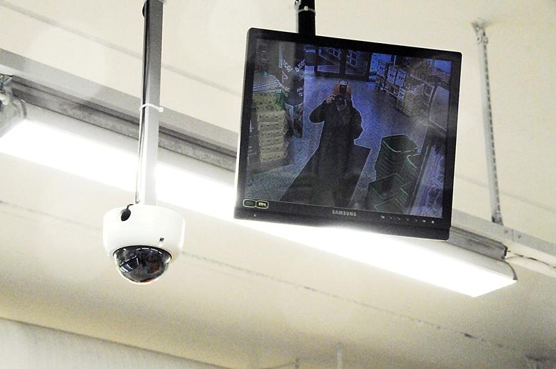 15 OMRÅDER: Minst 15 ulike områder på Birkeland har kameraer som registrerer bevegelsene til både birkenesinger og besøkende. Kun ett område er å finne i registeret til Datatilsynet.