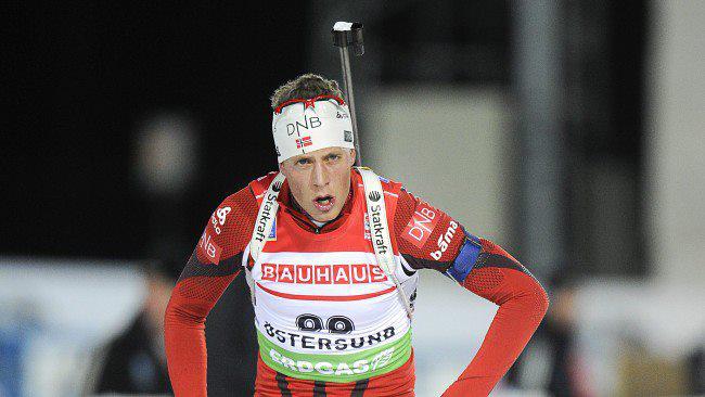 SYK: Lars Helge Birkeland er blitt syk og må stå over lørdagens VM-sprint i Kontiolahti.