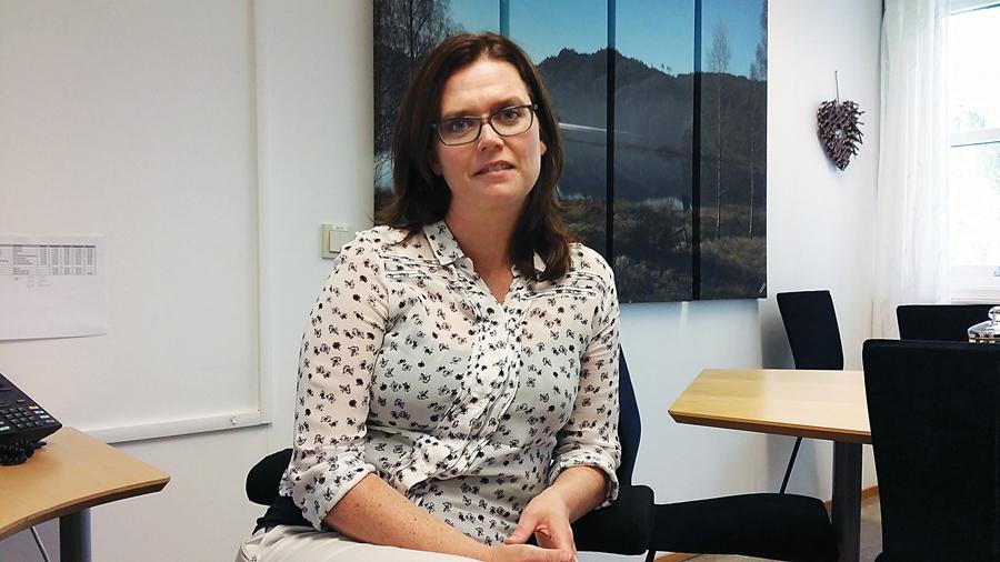 ENDRING MÅ TIL: Rådmann Gro Anita Trøan vil ikke anbefale politikerne å gå inn for det ene eller det andre før Birkenes har sondert terrenget i forhold til de andre kommunene i Knutepunkt Sørlandet. Å fortsette som i dag er imidlertid umulig, mener hun.