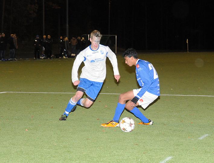 BILS BESTE: Høyrekant Knut Arild Espegren scoret ett mål og spilte en gjennomgående god kamp på et BIL-lag som slet med pasningskvaliteten mot et hardtarbeidende LIL-lag.