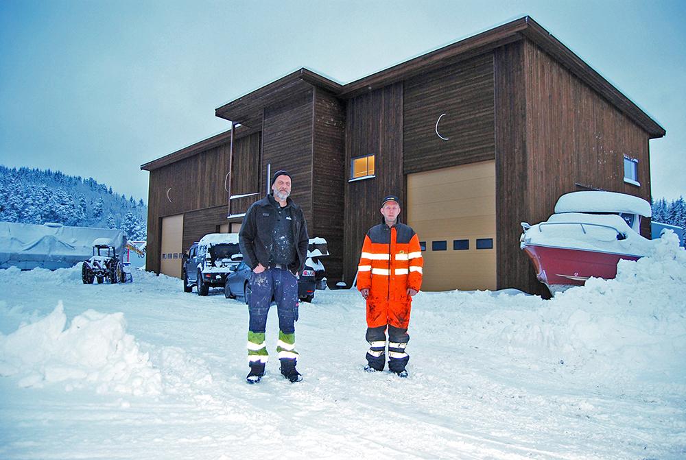 NY: I lokalene til Knut Johansen og Tom Nyhaven i Tveide næringspark åpnes det om ikke lang tid en ny butikk.