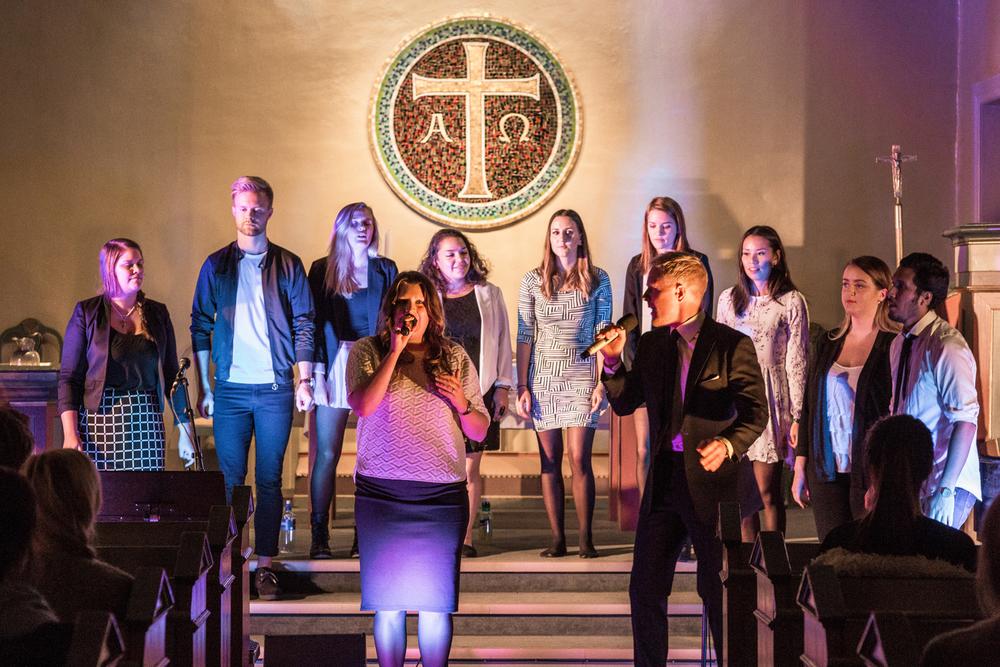 KONSERT: New Voices spiller på Folkehøgskolen Sørlandet i kveld.