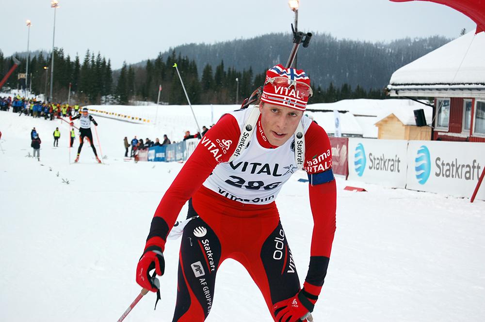 VM-RESERVE: Lars Helge Birkeland innser at han må slite benken under VM i Oslo i begynnelsen av mars, men lover å være klar dersom han skulle bli kalt inn til tjeneste.