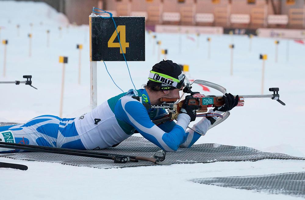 LEDER: Håkon Svaland gikk inn til andre- og femteplass under helgas norgescuprunde i Mo i Rana. FOTO: Bossmo og Yttern Idrettslag