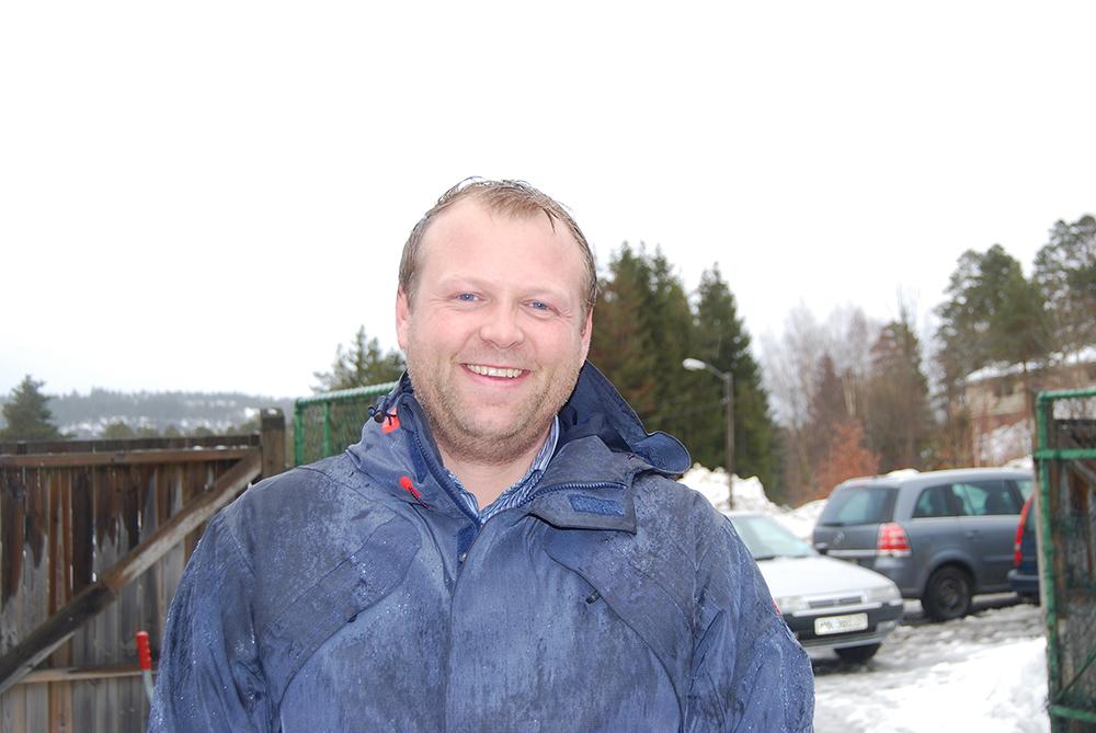 POPULÆRT TILBUD: Daglig leder Johan Jørgen Fossli i Libir forteller at Herefoss miljøstasjon var populær hos innbyggerne i Froland og Grimstad.