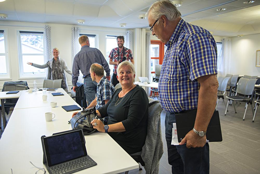 KRITISK: Toril Espegren (KrF) og resten av partiet er kritisk til byggeledelsen ved rehabiliteringa av Birkeland skole.